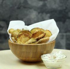 CALABACINES AL HORNO Estas son probablemente las patatas fritas más saludables del mundo. ¡Y así las preparas tú mismo!