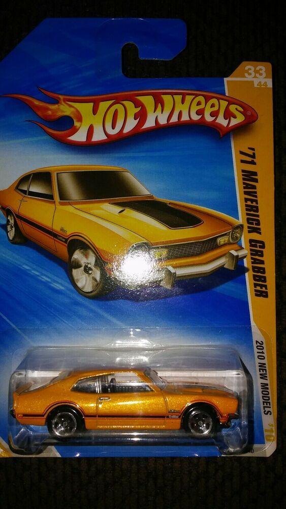 2010 Hot Wheels New Models 71 Maverick Grabber 33 44 Vhtf Yellow