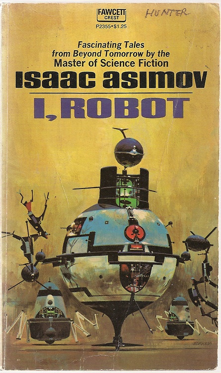 I, Robot - Isaac Asimov - Vintage Science Fiction Sci-Fi Novel Paperback Book - 1970 - $8.00: Worth Reading, Robots, Isaac Asimov, Sci Fi Book, Books Worth, Scifi, Science Fiction, Book Covers