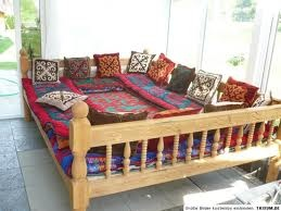 Tapchan sofa, Uzbekistan - traditional outdoor seating