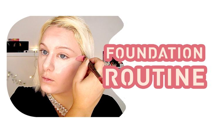 Basic makeup foundation routine - Mac cosmetics, L'oreal & Max factor - ...