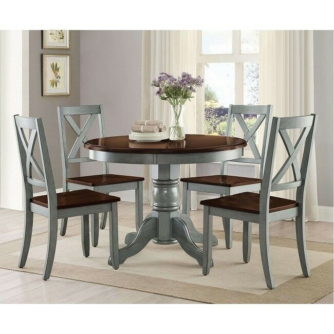 Round Dining Table Room Wood Tables Farmhouse Pedestal Antique Kitchen 42 Inch 764 Round Dining Table Sets Farmhouse Round Dining Table Round Dining Room Table