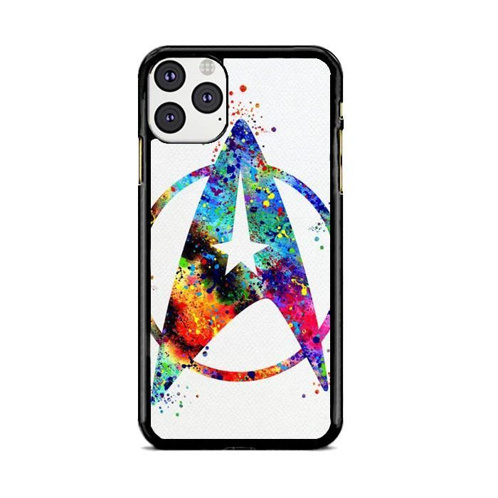 Star Trek Abstract Painting Watercolor Iphone 11 Pro Case Babycase Products In 2020 Iphone Datenubertragung Netzteile