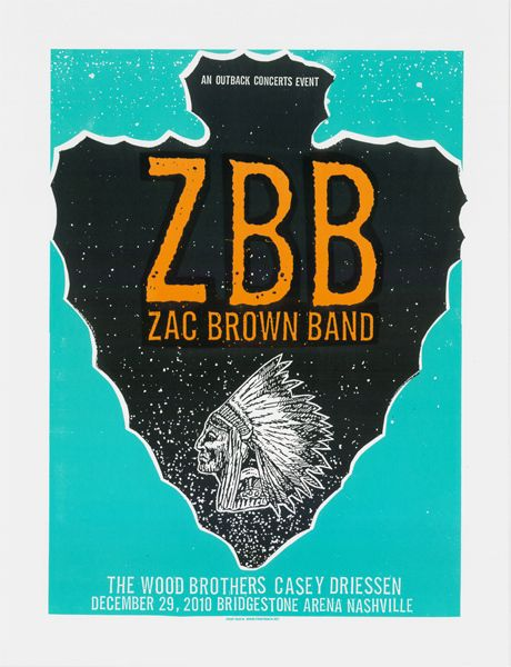 Zac Brown Band. They are pure amazingness and make me smile everytime I listen to them which is pretty much everyday.
