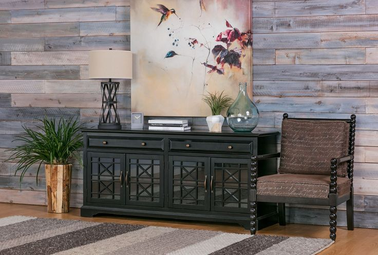 Annabelle Black 70 Inch Tv Console - 360