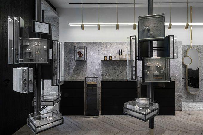 kois architectuur for Ileane Makri store Greece