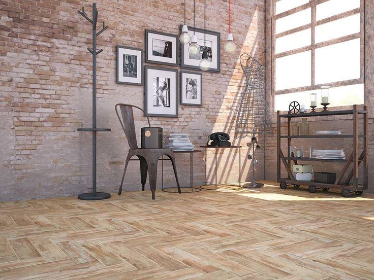 Nuestra serie #Ébano de la colección #Metroline ha sido una gran elección para crear este espacio estilo industrial.