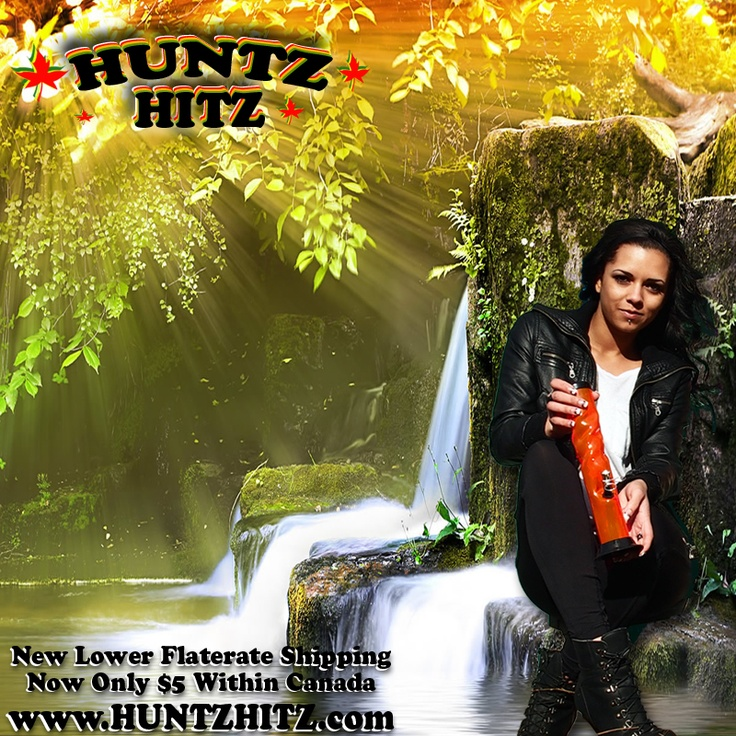 NEW! $5 flat rate shipping within Canada at www.huntzhitz.com