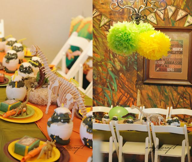 23 best Dinosaur Party images on Pinterest Birthday party ideas