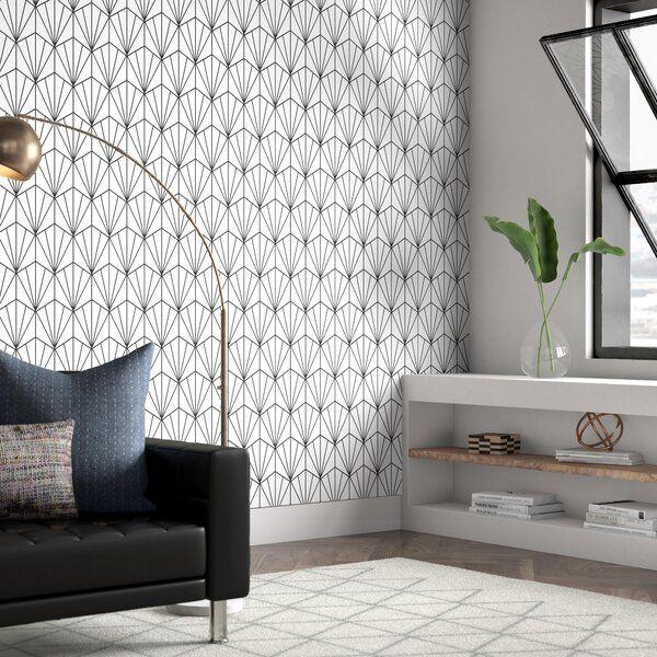 Wrought Studio Hartle 48 L X 24 W Peel And Stick Wallpaper Panel Wayfair Ca Wallpaper Panels Decor Peel And Stick Wallpaper