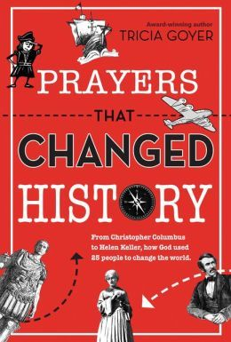Prayers that Changed History Giveaway! Tricia Goyer's new book Prayers That Changed History is out, and I was privileged to get to be a part of her review team. This exciting new book for kids and tweens looks at the lives of twenty-five men and women from history and how God used their prayers to make a difference. He even used them to change history. I'm giving away a copy this week on my website. Come enter today! Giveaway ends 10/7/15! - WriteBonnieRose.com