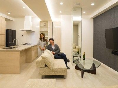 「QUALIA クオリア」のリノベーション事例「開放感あふれるイタリアンモダンの空間に生まれ変わったヴィンテージマンション」