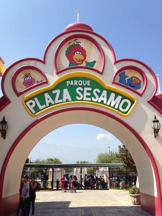 Parque Plaza Sesamo en Monterrey, Nuevo León