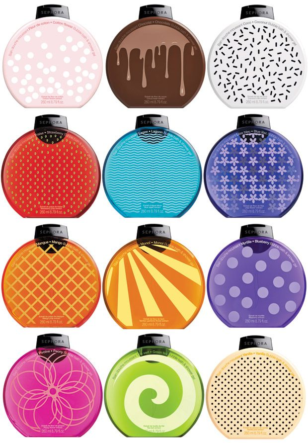 New Bubble Bath & Shower  Collection by Sephora