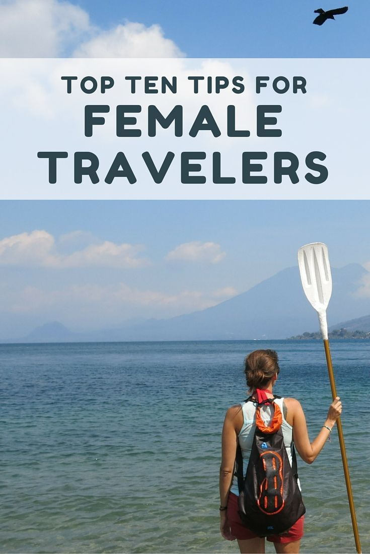 After traveling full time for two years, here are my top ten tips for female travelers. I've applied these tips while backpacking around Europe, Asia, Central America, and South America. Re-pinned by # Europass