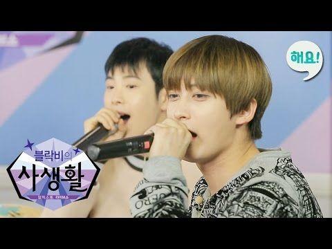 [Heyo idol TV] P.O X JAEHYO(Block B) - '보통연예' Live [블락비의 사생활] 20160413