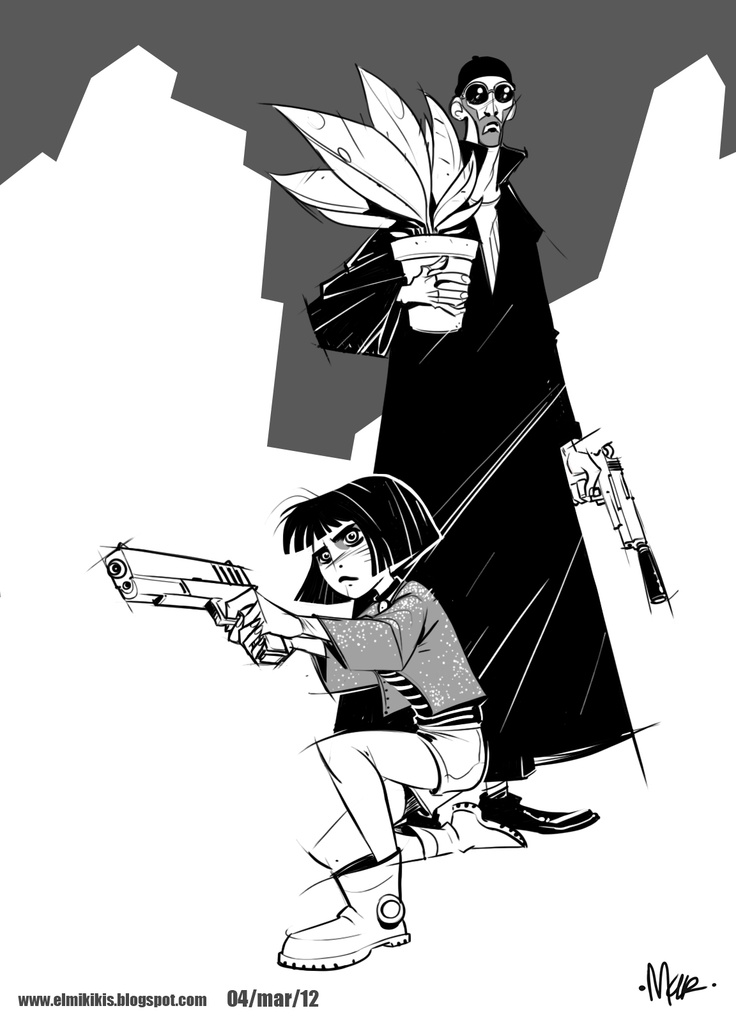 Léon: The Professional by Mike Reyes