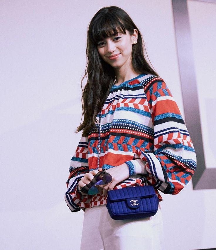 #シャネル #2016年春夏 オートクチュールのショー会場でキャッチした #中条あやみ さん #Ayaminakajo at #Chanel Hautecouture show #fashion #celebrity #ChanelHauteCouture #ChanelHC16S #ファッション