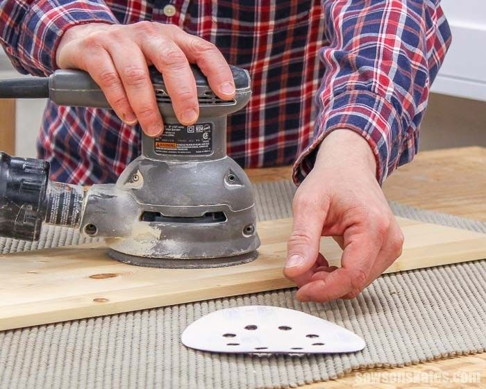 The Fix For Sanding Discs That Won T Stick To Your Sander Sanding Woodworking Tools For Beginners Woodworking Tips