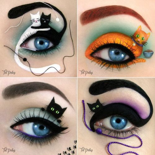 49 best Cat Makeup images on Pinterest | Cat makeup, Cats and Costumes