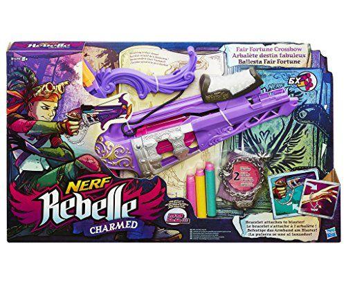 Nerf Rebelle – B1698eu40 – Charmed Arbalète Fortune – fléchettes: 36 unité(s) de cet article soldée(s) à partir du 28 juin 2017 8h…