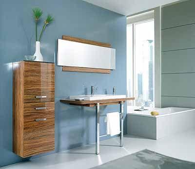 Retro Bathroom Decorating in 1950s 60s Style, Modern Bathrooms