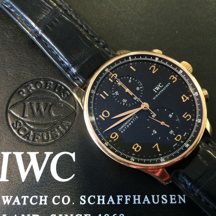 Looking for a real 'Smart' watch? The IWC Portugieser Rose Gold Chrono