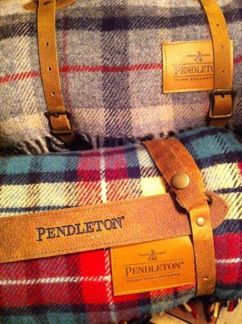 Warm and cozy: Pendleton Blanket