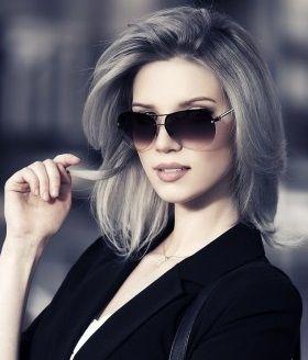 La moda en tu cabello: Color de cabello Gris - 2015/2016