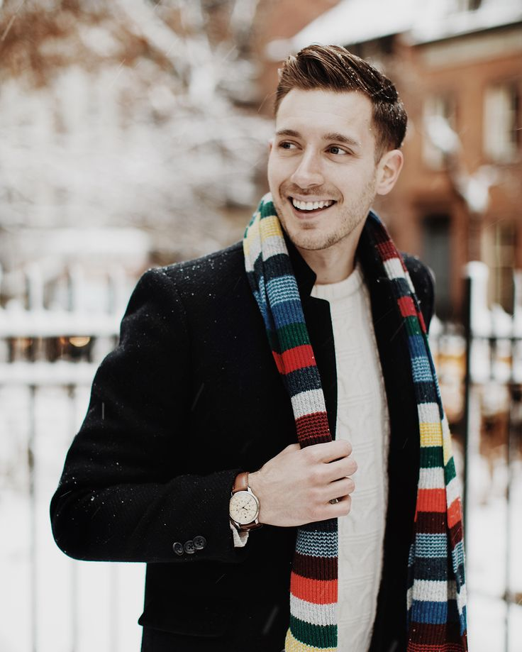 The scarf was the splash of make-you-smile style color that the outfit needed – I loved how it popped against the navy coat and white snow. My favorite part of this outfit was the Cole Haan snow boots because the red plaid detail felt so festive and snow appropriate! Plus, as well as looking stylish they were waterproof so my feet stayed totally warm and dry. To be honest I've spent years searching for stylish and practical boots to wear in the snow, so I'm so pleased that this pair turned…
