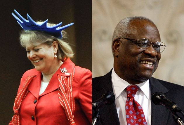 Is Ginni Thomas' Expanding Activism a Problem for Supreme Court Justice Clarence Thomas? Her fierce political advocacy with Groundswell revives conflict of interest questions surrounding her husband.