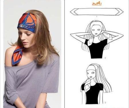 Как повязать головной платок