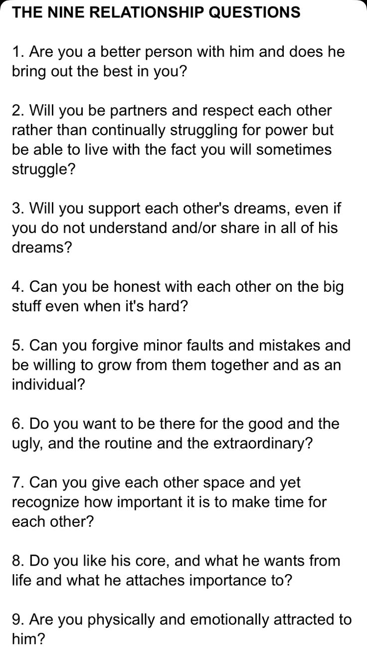 dating and relationships quiz