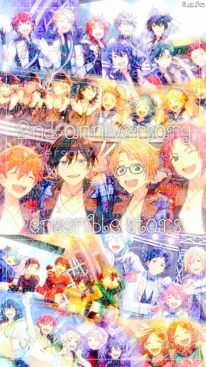 あんスタ 2nd Anniversary 加工 完全無料画像検索のプリ画像 Ensemble Stars Anime Wallpaper Anime