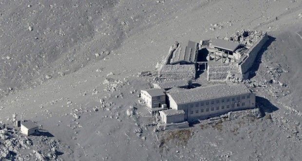 Meletusnya Gunung Berapi Ontake di Jepang. Sumber www.sisidunia.com