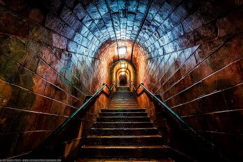 Smugglers Tunnel, Teignmouth, Shaldon, Devon, England