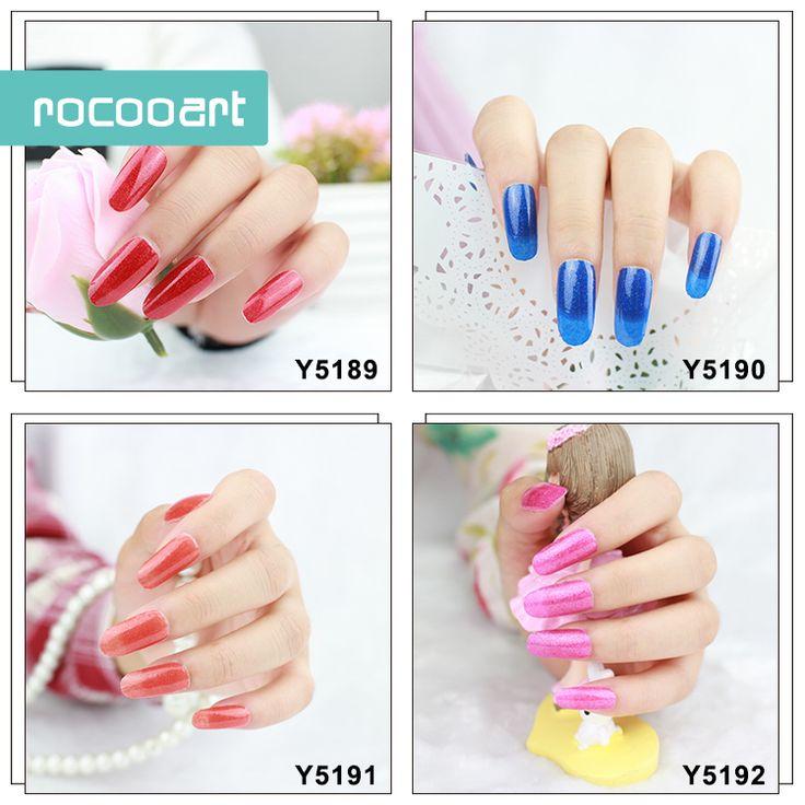 11 Different Colors Self-Adhesive Nail Art Stickers Decor Full Nail Foil Wraps Decal Fingernails Sticker Pure Pink Purple Blue #Affiliate