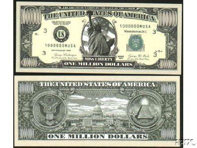 (25) Traditional Million Dollar Bill by AAC. $2.88. 25 BRAND New Novelty Bills