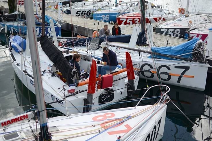 #MinitransatRace 2015 #RomainMouchel @RMouchel_346 #759 Race Training #France www.technocraftsl.com #TechnoCraftsl @TechnoCraftsl