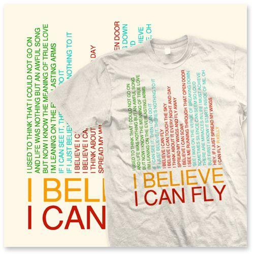 "T-Shirt ""I Believe I Can Fly"" – HAKUNA MATATA"