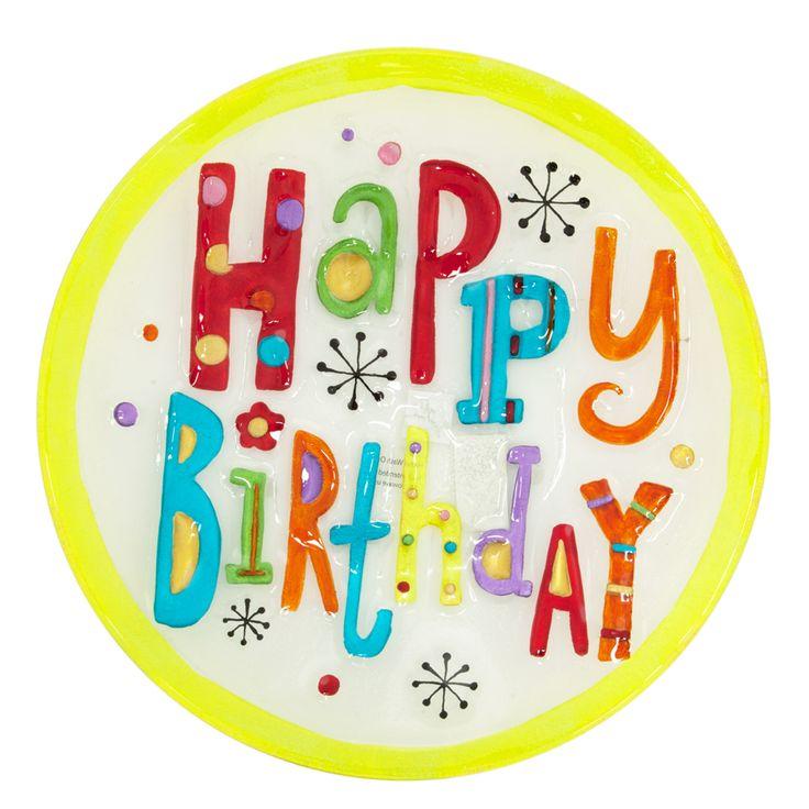 Demdaco Happy Birthday Round Serving Platter #VonMaur
