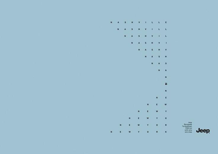 Read more: https://www.luerzersarchive.com/en/magazine/print-detail/jeep-61020.html Jeep Jeep Renegade Turbodiesel. 1,900 km with only one stop. Tags: Jeep,Leo Burnett Tailor Made, São Paulo,Marcelo Reis,Alessandro Bernardo,Bruno Godinho,Carla Cancellara,Vinicius Stanzione,Pedro Rosa,Ricardo Alonso