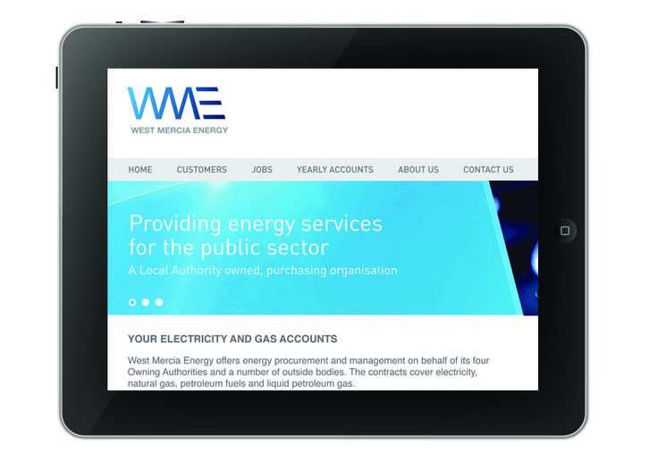 Detailed shot of the West Mercia Energy website. #SourceDesign #Shrewsbury #WebDesign