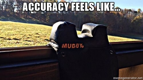 Never miss again with the #Muddy universal window rest...