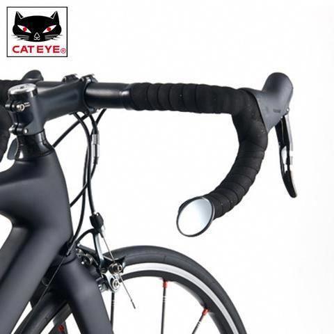 Cateye Cycling Bike Mirrors Mtb Road Bike Bicycle Handlebar Barend Rearview Mirror Ultralight Safe Mirror Bicycl In 2020 Bike Mirror Road Bicycle Bikes Bike Handlebars