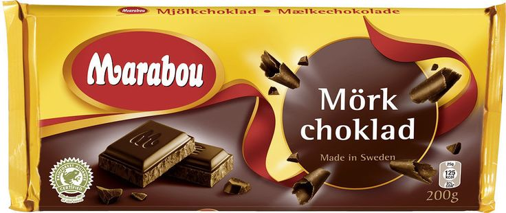 Marabou - Dark Chocolate Bar, 200g - Made in Sweden