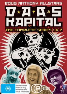 #DAASKapital - The Complete Series 1 & 2. DAAS Kapital was a sitcom that incorporated sketch show and variety show TV formats, similar to 'The Chaser'. $19.99 Available 20/03/2013