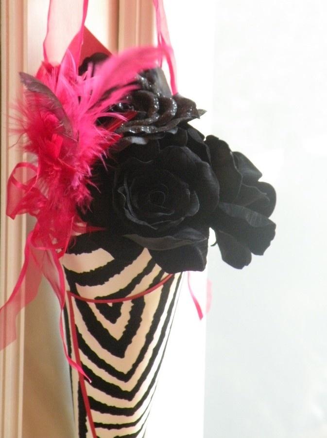 51 best wedding 2015 images on pinterest zebra wedding rockn roll wedding decorations rock n roll zebra glam paper cone wedding junglespirit Images