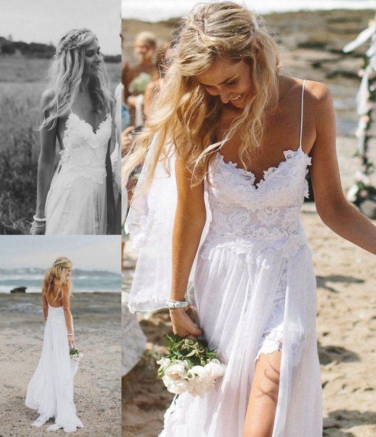 Perfecto estilo de #novia para una informal boda en la playa #innovias