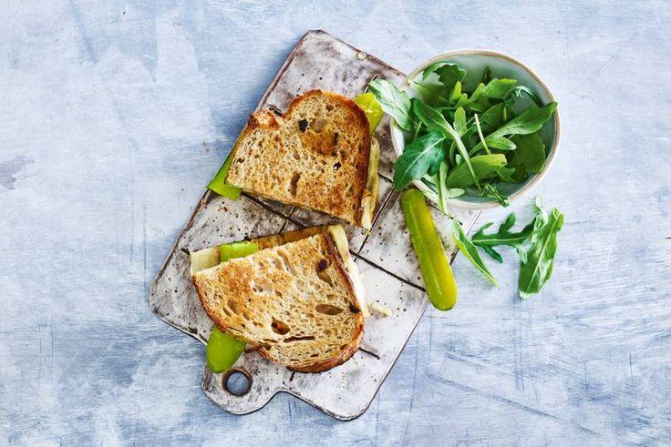 Een pittige variant op de gouwe ouwe tosti ham en kaas. - Recept - Allerhande